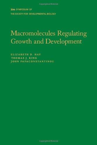 9780126129731: Macromolecules Regulating Growth and Development: Symposium Proceedings (Symposium - Society for Developmental Biology ; 30th)