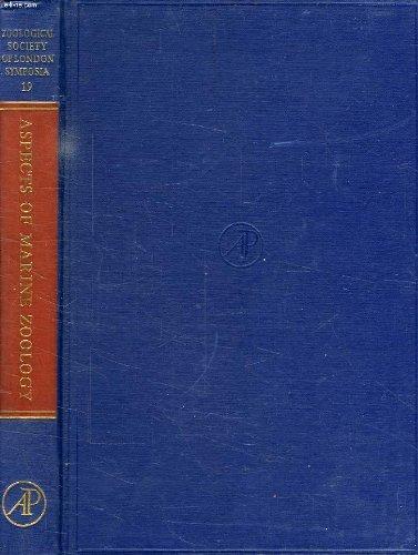 9780126133196: Aspects of Marine Zoology (Zoological Society Symposium)