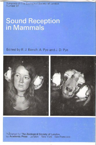 9780126133370: Sound Reception in Mammals: Symposium Proceedings (Symposia of the Zoological Society of London)