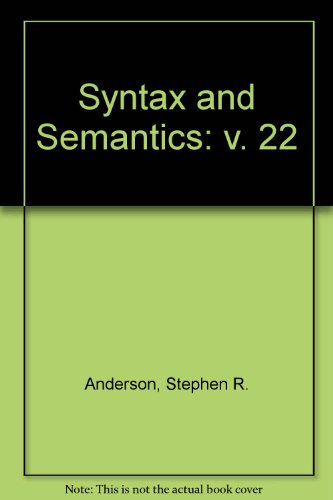 9780126135220: Syntax and Semantics: Structure and Case Marking in Japanese