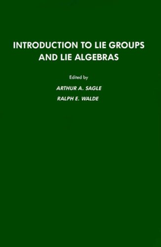 9780126145519: Introduction to Lie Groups and Lie Algebra, 51 (Pure and Applied Mathematics (Academic Pr))