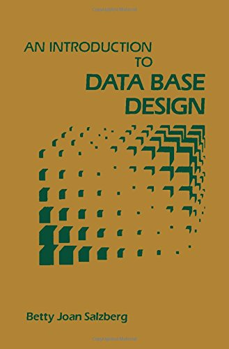 9780126168709: An Introduction to Data Base Design