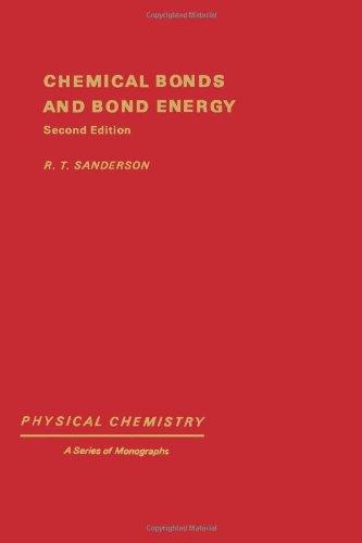 9780126180602: Chemical Bond and Bond Energy (Physical chemistry)