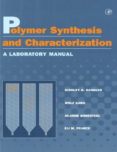 9780126182408: Polymer Synthesis and Characterization: A Laboratory Manual