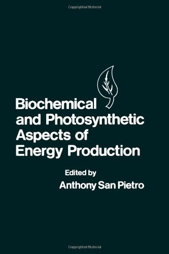 9780126189803: Biochemical and Photosynthetic Aspects of Energy Production