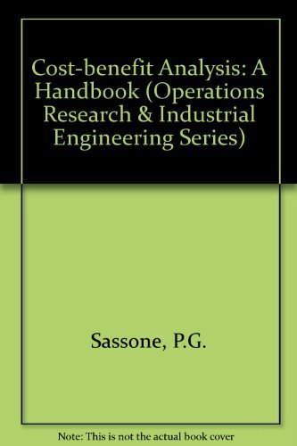 9780126193503: Cost-Benefit Analysis: A Handbook (Operations Research and Industrial Engineering)