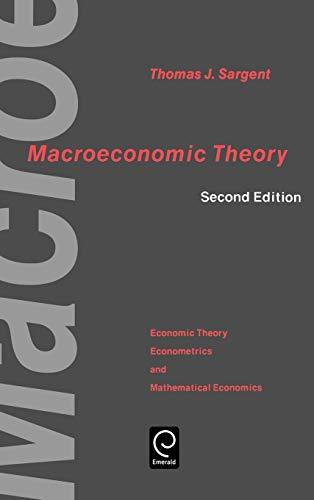9780126197518: Macroeconomic Theory (Economic Theory, Econometrics, and Mathematical Economics Series)