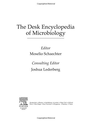 9780126213614: Desk Encyclopedia of Microbiology