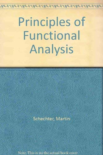 9780126227505: Principles of Functional Analysis