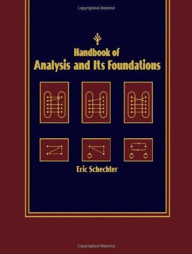 9780126227604: Foundations of Analysis: A Handbook