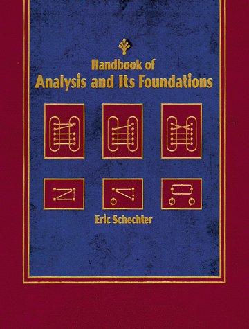 9780126227659: Handbook of Analysis: CD-ROM Version