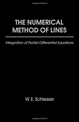 9780126241303: The Numerical Methods of Lines: Integration of Partial Differential Equations