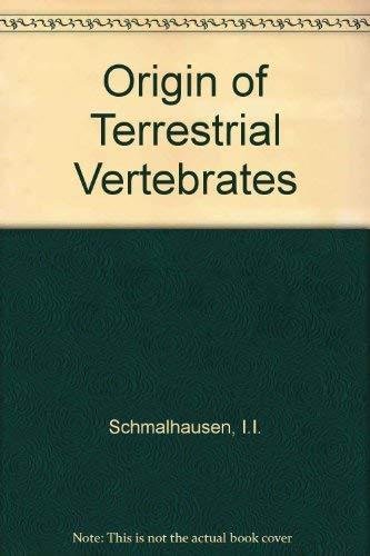 9780126257502: Origin of Terrestrial Vertebrates