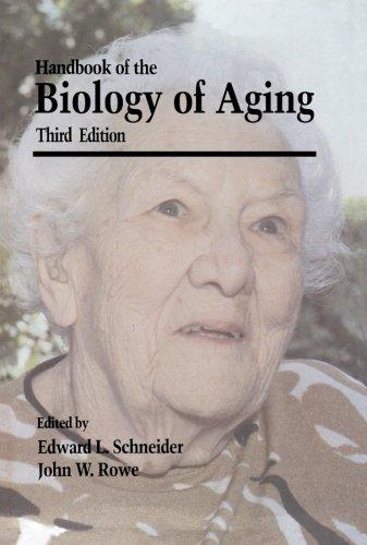 Handbook of the Biology of Aging: Third: Press, Academic
