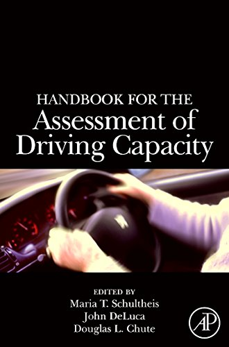 9780126312553: Handbook for the Assessment of Driving Capacity