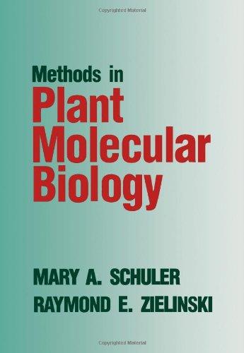 9780126323405: Methods in Plant Molecular Biology