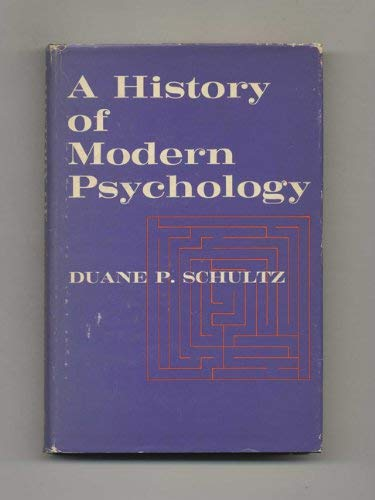 9780126330403: A History Of Modern Psychology
