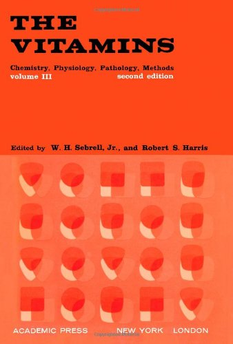 9780126337631: Vitamins: v. 3: Chemistry, Physiology, Pathology, Methods