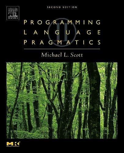 9780126339512: Programming Language Pragmatics