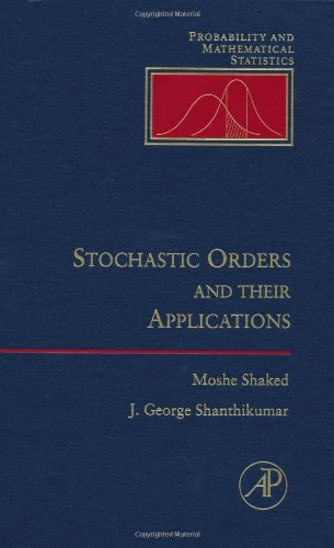 9780126381603: Stochastic Orders and Their Applications (Probability & Mathematical Statistics)