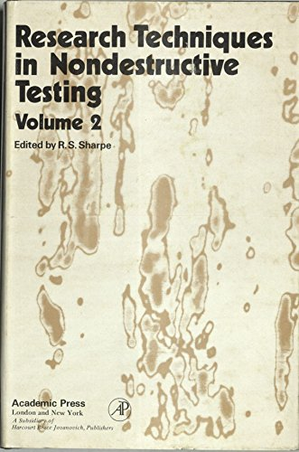 9780126390520: Research Techniques in Nondestructive Testing, Vol. 2
