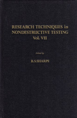 9780126390575: Research Techniques in Nondestructive Testing, Vol. VII