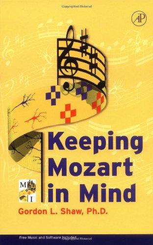 9780126392906: Keeping Mozart in Mind