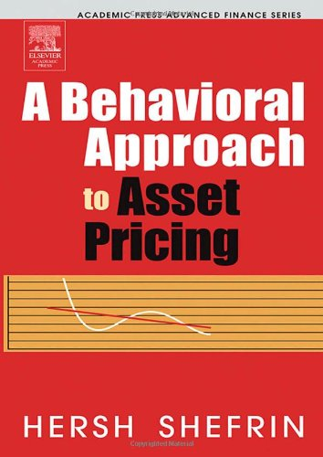9780126393712: A Behavioral Approach to Asset Pricing