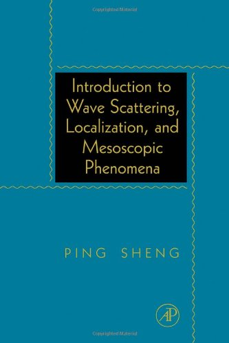 9780126398458: Introduction to Wave Scattering, Localization, and Mesoscopic Phenomena