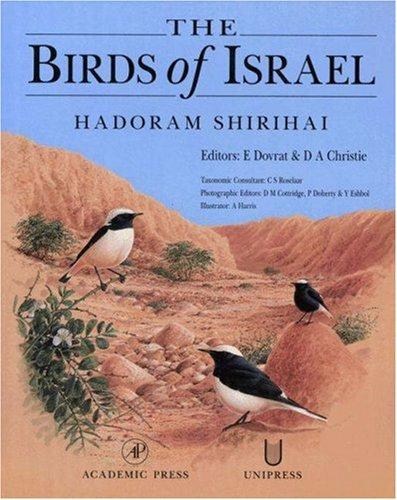 9780126402551: The Birds of Israel (Birdwatch's 1996 Bird Book of the Year)