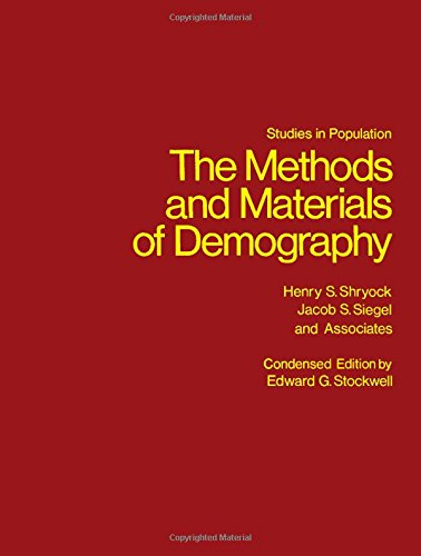 9780126411508: The Methods and Materials of Demography (Studies in Population)