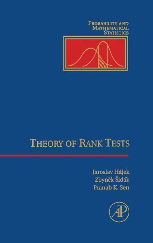 9780126423501: Theory of Rank Tests (Probability and Mathematical Statistics)