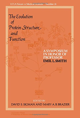 9780126431506: Evolution of Protein Structure and Function: A Symposium in Honor of Professor Emil L.Smith (UCLA forum in medical sciences)