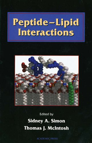 9780126438710: Peptide-Lipid Interactions (Current Topics in Membranes)