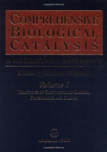 9780126468601: Comprehensive Biological Catalysis, Four-Volume Set: A Mechanistic Reference