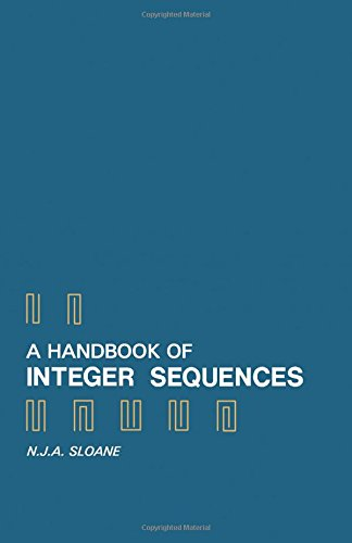 9780126485509: A Handbook of Integer Sequences