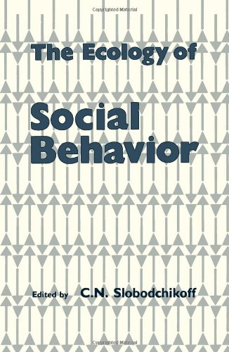 9780126487817: The Ecology of Social Behavior