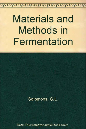 9780126544503: Materials and Methods in Fermentation