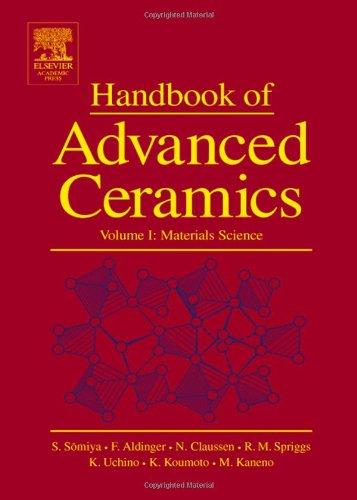 9780126546408: Handbook of Advanced Ceramics: Materials, Applications, Processing and Properties