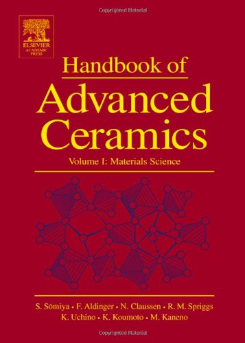 9780126546408: Handbook of Advanced Ceramics: Materials, Applications, Processing and Properties