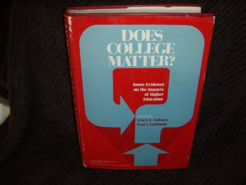 9780126550504: Does College Matter?
