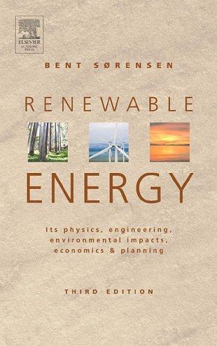 Renewable Energy: Bent Sørensen