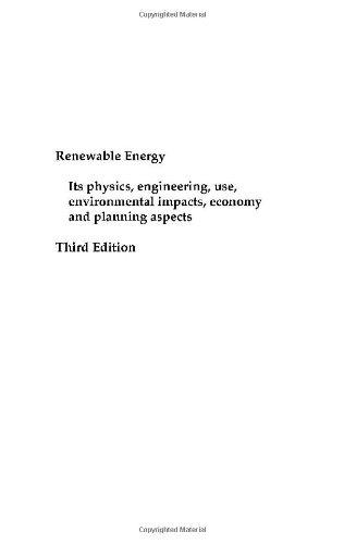 9780126561531: Renewable Energy, Third Edition