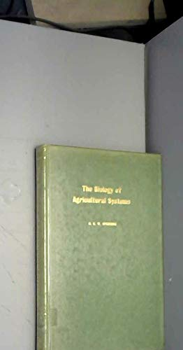 9780126565508: Biology of Agricultural Systems