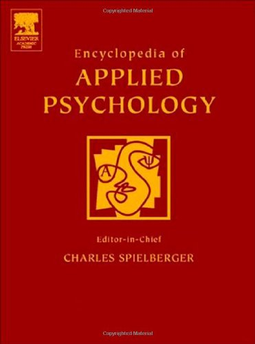 9780126574104: Encyclopedia of Applied Psychology