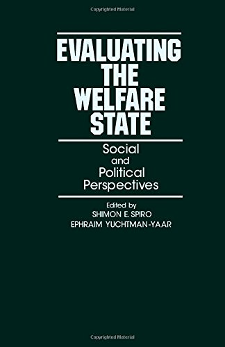 9780126579802: Evaluating the Welfare State: Social and Political Perspectives