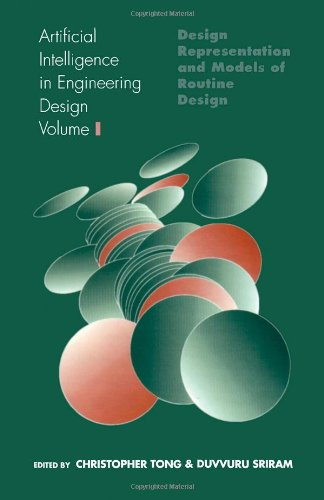 9780126605617: Artificial Intelligence in Engineering Design, Volume 1: Volume I: Design Representation and Models of Routine Design
