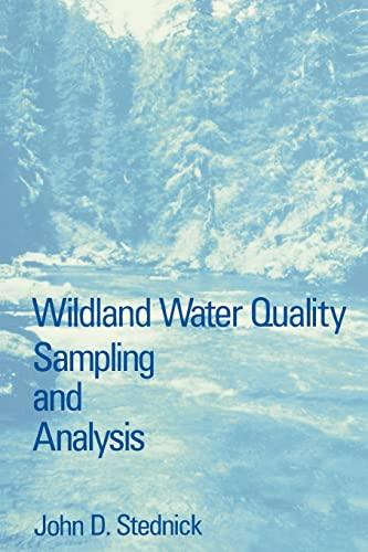 9780126641004: Wildland Water Quality Sampling and Analysis