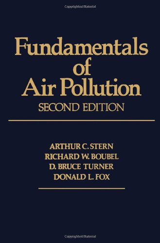 Fundamentals of Air Pollution. [Subtitle]: Second Education: Stern, Arthur C.,