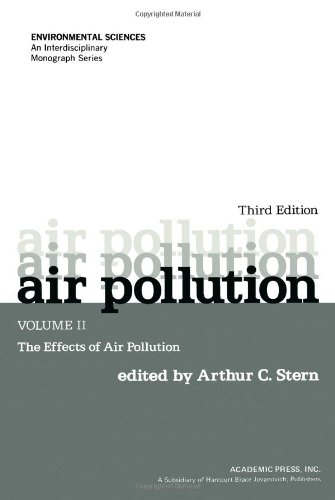9780126666021: Air Pollution, Volume 2: The Effects of Air Pollution